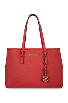 MICHAEL KORS Jet Set large travel tote