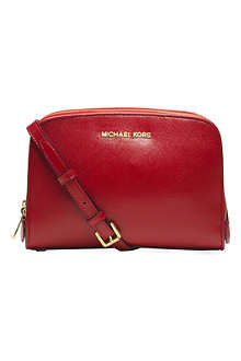 MICHAEL KORS Reese saffiano leather cross-body bag