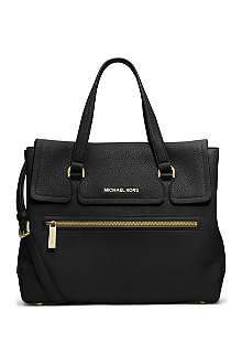 MICHAEL MICHAEL KORS Mackenzie leather satchel