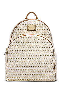 MICHAEL KORS Jet set studded backpack