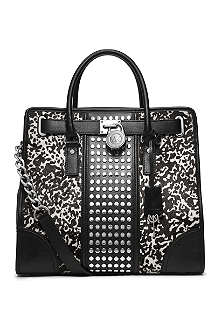 MICHAEL KORS Hamilton studded tote bag
