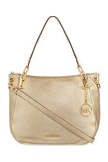 MICHAEL MICHAEL KORS Brooke large leather shoulder tote