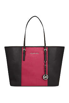 MICHAEL MICHAEL KORS Jet Set Travel medium centre stripe tote