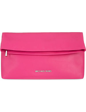 MICHAEL MICHAEL KORS Daria fold-over clutch