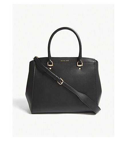 Benning large leather satchel