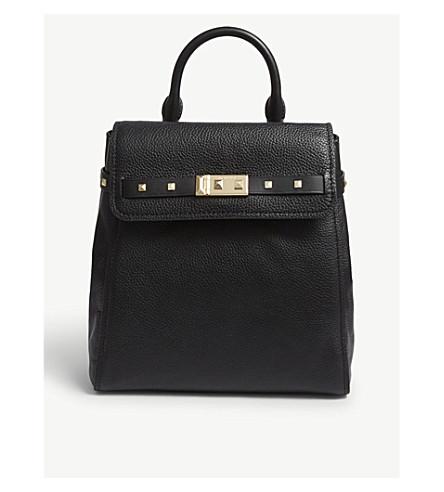 f3961d32c1 ... MICHAEL MICHAEL KORS Addison leather backpack (Black. PreviousNext