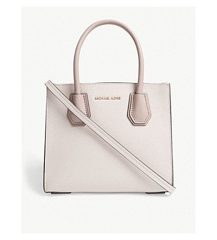 MERCER GRAINED LEATHER TOTE