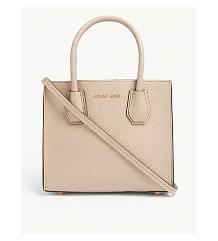 MICHAEL MICHAEL KORS Mercer grained leather tote (Truffle