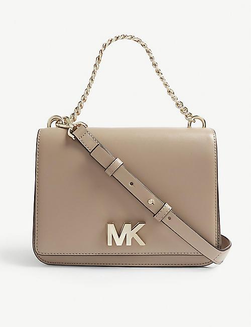 f7f61da32b74 MICHAEL MICHAEL KORS Mott leather shoulder bag