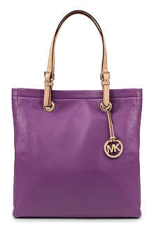 MICHAEL KORS Jet Set Item leather tote
