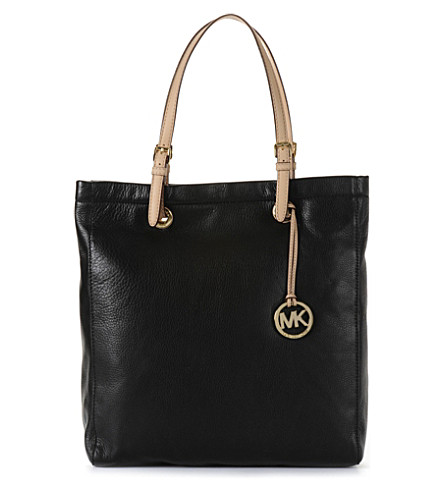 MICHAEL KORS Jet Set Items tote (Black
