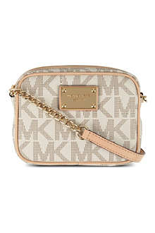 MICHAEL KORS Jet Set leather shoulder bag