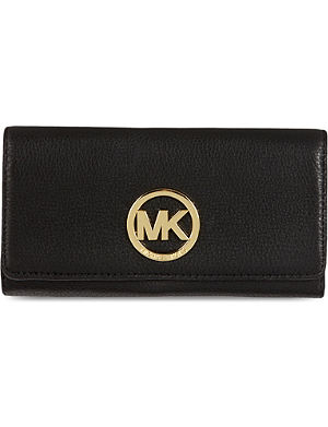 MICHAEL MICHAEL KORS Logo leather wallet