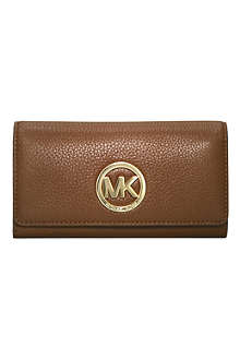 MICHAEL KORS Logo leather wallet