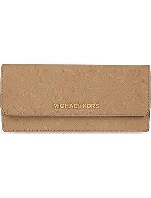 MICHAEL MICHAEL KORS Jet Set saffiano wallet