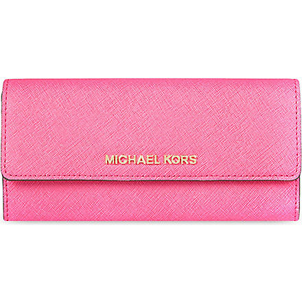 MICHAEL KORS Jet Set travel carryall (Raspberry