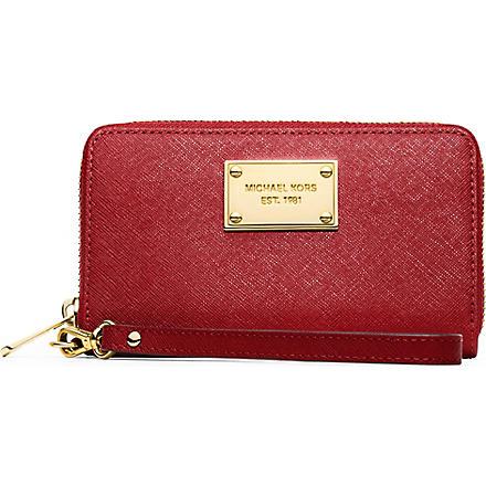 MICHAEL KORS Multifunctional phone case (Red