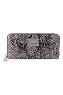 MICHAEL KORS Jet Set mock-python wallet