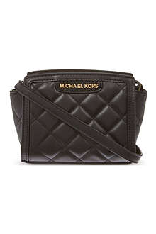 MICHAEL MICHAEL KORS Selma quilted mini messenger