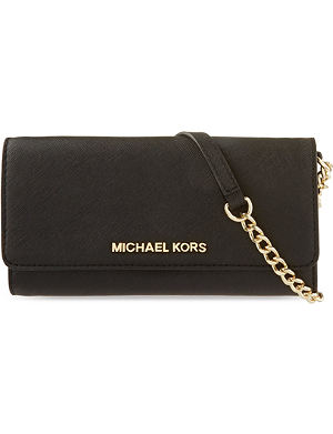 MICHAEL MICHAEL KORS Leather cross body purse