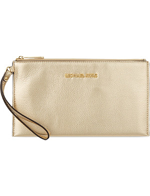 MICHAEL MICHAEL KORS Bedford large zipped clutch