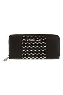MICHAEL KORS Studded leather purse