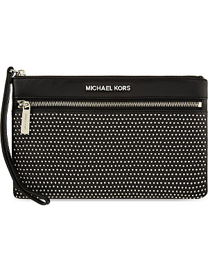 MICHAEL MICHAEL KORS Micro studded selma pouch