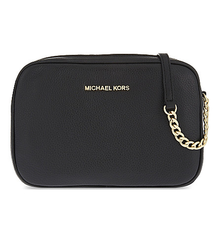 MICHAEL MICHAEL KORS Bedford leather cross-body bag (Black
