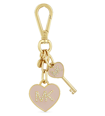 MICHAEL MICHAEL KORS Heart and key charm (Ballet