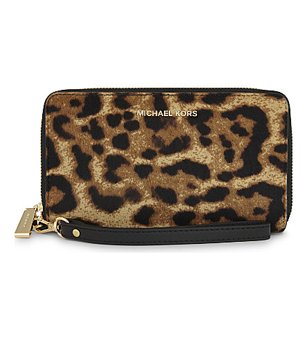 MICHAEL MICHAEL KORS Sutton continental wallet (Butterscotch