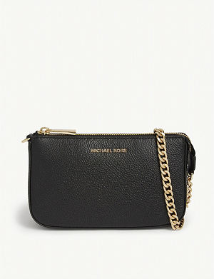 MICHAEL MICHAEL KORS - Money Pieces grained leather trifold wallet ... 4f1a4dd6cb