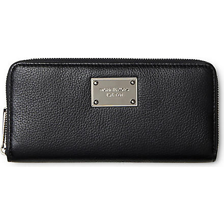 MICHAEL KORS Jet Set wallet (Black