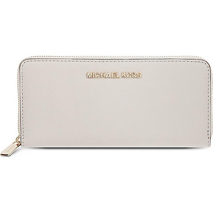 MICHAEL KORS Bedford leather wallet (Vanilla