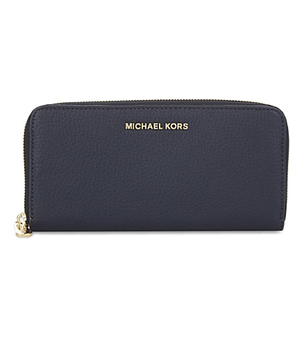 MICHAEL MICHAEL KORS Bedford leather continental wallet (Admiral