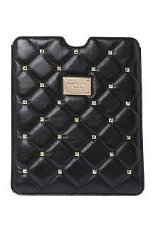 MICHAEL KORS Quilted studs iPad case