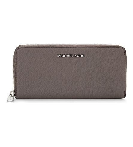 MICHAEL MICHAEL KORS Bedford continental leather wallet (Cinder