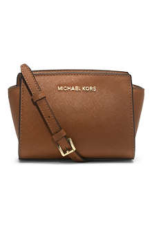 MICHAEL KORS Selma mini cross-body satchel
