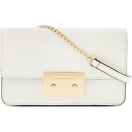 MICHAEL KORS Selma mini cross body bag (Vanilla