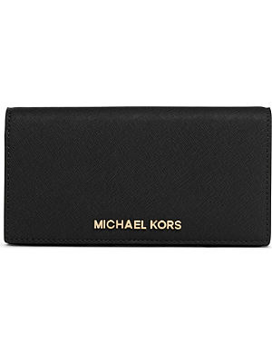 MICHAEL MICHAEL KORS Slim saffiano leather wallet