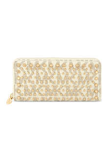 MICHAEL MICHAEL KORS Jet Set travel studded wallet
