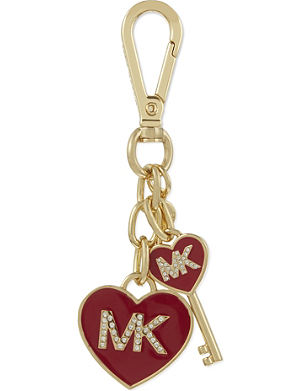 MICHAEL MICHAEL KORS Enamel heart and key charm