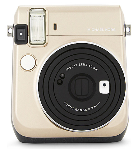 MICHAEL MICHAEL KORS Instax mini 70 instant camera (Gold