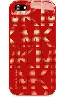 MICHAEL KORS Logo-print iPhone 5 case