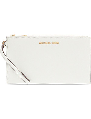 MICHAEL MICHAEL KORS Saffiano leather pouchette