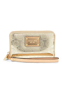 MICHAEL KORS Monogram phone card wallet