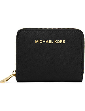 MICHAEL MICHAEL KORS Small saffiano leather wallet