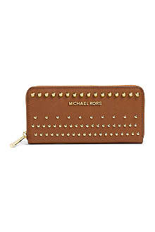 MICHAEL KORS Degr saffiano leather wallet