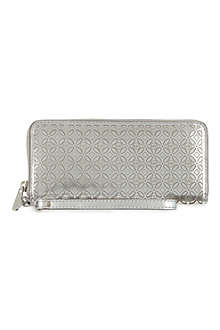 MICHAEL KORS Flower leather phone wallet