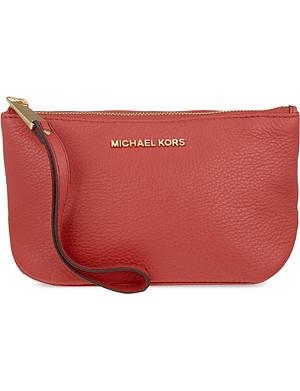 MICHAEL MICHAEL KORS Rhea large zipped pouch