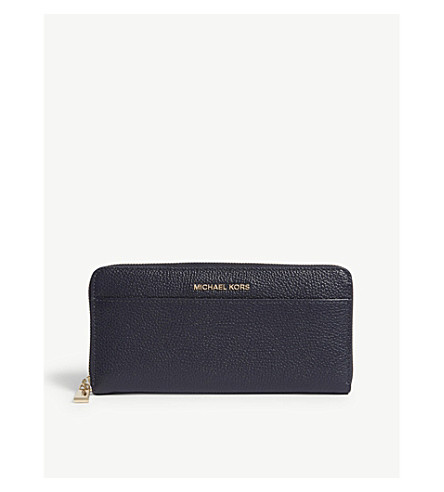 MICHAEL MICHAEL KORS Mercer continental leather wallet (Admiral